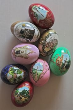 Hand Painted Eggs | Hand painted on real eggs.