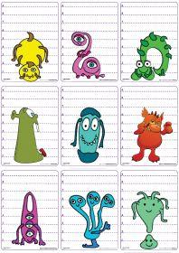 23 Clever DIY Christmas Decoration Ideas By Crafty Panda Preschool Curriculum, Kindergarten, Head Start Preschool, Monster Classroom, Theme Halloween, Bricolage Halloween, Cartoon Monsters, Classroom Themes, Thing 1