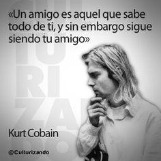 Kurt Kobain- Amigos