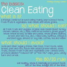 Interested in eating clean but dont know where to start? Good thing healthy-craving made you a guide!