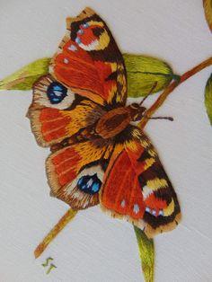 Peinture à l'aiguille réalisée par Simone