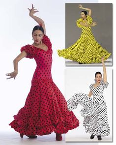 FL-899 Sevillana Flamenco Dress Flamenco Dresses Discount Praise Dance Wear, Shoes, Apparel | Christian & Worship Dance Wear/Attire