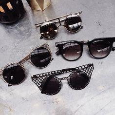 cut-eye sunglasses