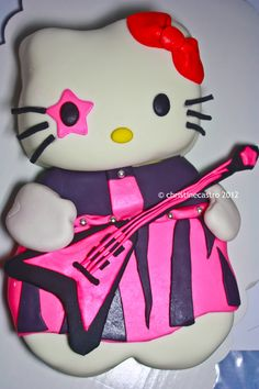 4th Birthday Parties, Hello Kitty, Cupcake, Lunch Box, Facebook, Party, Character, Cupcakes, Cupcake Cakes