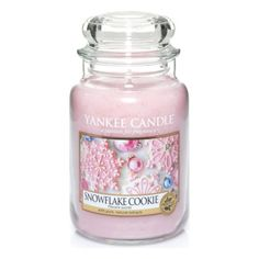 Yankee-Candle-Jar-Large-Snowflake-Cookie-Scented-Relax-Scent-Spa-Home-Decor-Gift