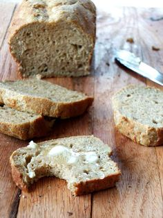 Yeast-Free Paleo Sandwich Bread (nut-free, coconut-free) | Cook It Up Paleo