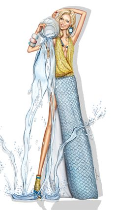 Zodiac Aquarius Jan 21-Feb 20