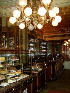 Cafe Demel, Vienna - photo by Ellie Perla