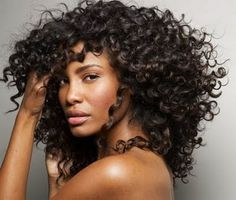 Natural Soft Curly Hair....