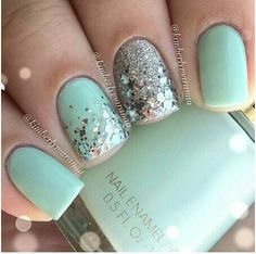 Mint and sparkle