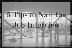 Going to a job interview can be terrifying, no matter how many you've been on. These tips can help to make the process a little bit easier.