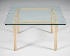 Alvar Aalto, lasikantinen pöytä, Y805A. Alvar Aalto, Table, Furniture, Home Decor, Decoration Home, Room Decor, Tables, Home Furnishings, Home Interior Design