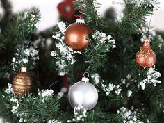 Boules de Noël en chocolat - Meilleur du Chef