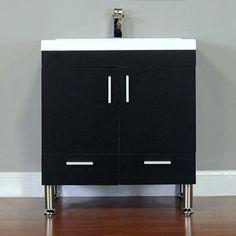 "Waldwick 30"" Single Modern Bathroom Vanity Set"