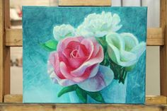 Painting Flowers in Acrylic FREE Online Tutorial