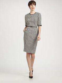 Jason Wu - Wool Tweed Dress - Saks.com