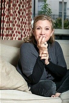 Carrie Fisher London 2015