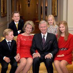 Famille royale de Belgique, Décembre 2016