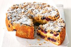 This gorgeous crumble cake is so delicious! Put the kettle on and invite friends around for afternoon tea. They'll never even suspect it's gluten-free!