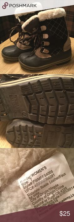 Snow boots size 7 (thinsulate) Good used condition. Snow boots size 7 (thinsulate) magellan Shoes Winter & Rain Boots