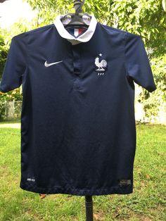 NIKE 2014 France Home World Cup Football Shirt (Kids) Size L  | eBay