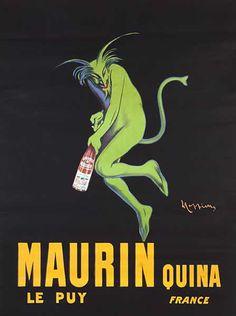 Maurin Quina, 1920  Poster by Leonetto Cappiello