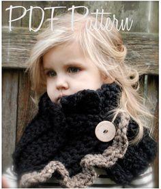 Crochet PATTERN-The Layla Cowl (Child, Adult sizes). $5.50, via Etsy.