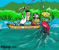 Dempsey's Goin' Fishin' in the Amazon this Summer!