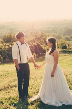 Vintage inspirierte DIY-Hochzeit am Balaton von Katinka Stone