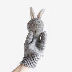 Bunny Puppet - Grey – bitte