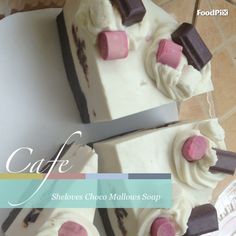 Choco mallows cake Soap by Sheloves Soap, Cake, Pie Cake, Pastel, Cakes, Tart, Pie, Soaps, Cookie