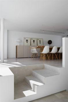 CONCRETE INTERIOR Interior Of The Family House OSICE
