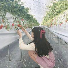 Ulzzang Korean Girl, Cute Korean Girl, Asian Girl, Girl Korea, Uzzlang Girl, Korean Photo, Aesthetic Hair, Pretty Photos, Kawaii Girl