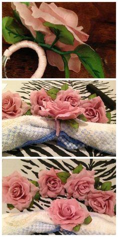 Tititi & Trelelê: Faça você mesmo: Porta Guardanapo de Flor