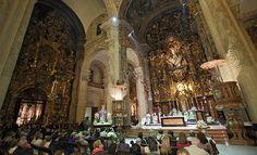 Visitas a la iglesia colegial del Divino Salvador                                                                                                                                                                                 Más