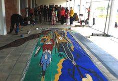U.C. Pavement Art