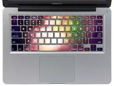 Nebula mac pro retina keyboard decals mac pro by MiracleDecal, $11.99