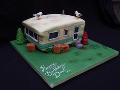 Seagull Poo Caravan! by Elizabeth Miles Cake Design