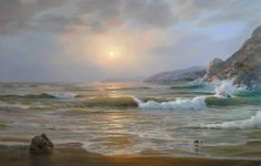 Master: Sergey Koval http://www.russianfineart.com/catalog/prod.php?productid=25258  Warm Evening - oil, canvas