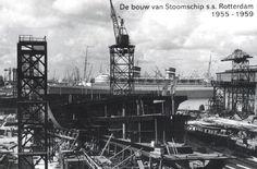 de bouw van de ss rotterdam