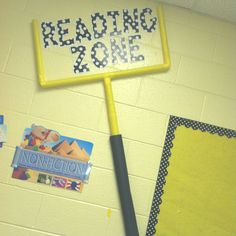 Reading Center- sports theme With pool noodles! Make on a smaller scale to fit classroom with green football field background, chalk lines and yardage Sports Theme Classroom, Classroom Posters, Classroom Setup, School Classroom, School Fun, Sports Classroom Decorations, Classroom Organization, School Themes, School Ideas
