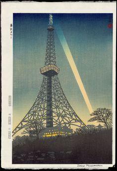 Tokyo Tower / Kasamatsu, Shiro (1898-1991)