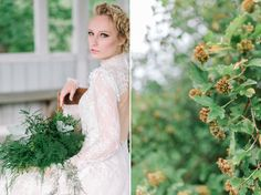 Botanical bridal shoot in Tuorla, Finland. Follow the link to see the article & creative team. Photo: willowvisuals.com Bridal Session, Bridal Shoot, Finland, Wedding Dresses, Link, Creative, Photography, Inspiration, Fashion