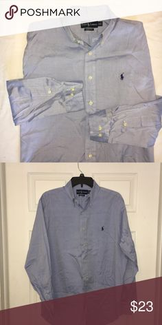 Polo by Ralph Lauren men's oxford shirt Excellent used excellent. Classic fit. Size 16x32/33 Polo by Ralph Lauren Shirts Dress Shirts