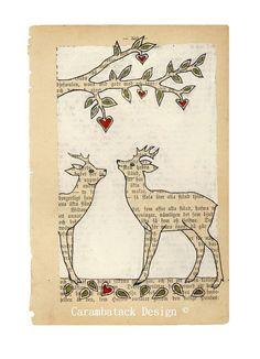 Primo incontro archivio stampa cervo amore arte di carambatack
