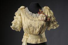 Musée du Costume et de la Dentelle :Mode au XXe siècle 1900