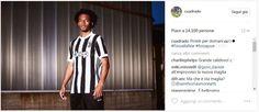 Cuadrado Juventus kit