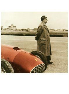 Enzo Ferrari F1 Grand Prix Photo Fine Art Print