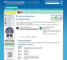 Do you want to learn Spanish? Then hover a look at our products.  Here at Rocket Spanish we want to get you;