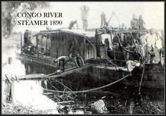 For over twenty years, King Leopold II of Belgium enslaved the people of the Congo for the rubber trade. Congo River, King Leopold, Belgian Congo, Okapi, Steamer, World History, Writing Inspiration, Reign, Black History